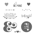 You Plus Me stamp set