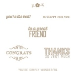 SAB Simply Wonderful Stamp Set
