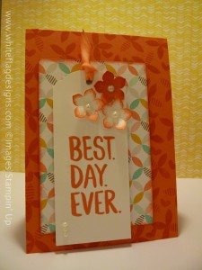 Best Day Ever SAB Card