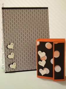 Valentine's Post it Holder and Notebook