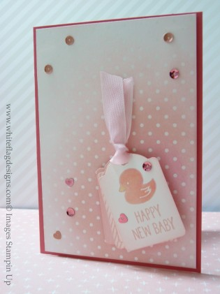Baby Girl and Baby Boy Cards