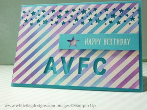 AVFC Birthday Card