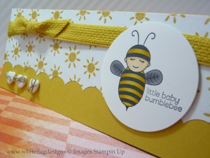 Baby Bumblebee Baby Card