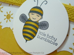 Little Baby Bumblebee Stamp