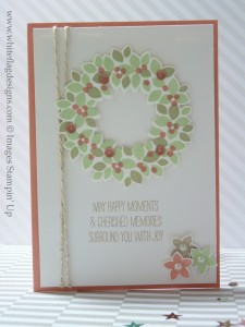 Wondrous Wreath Card