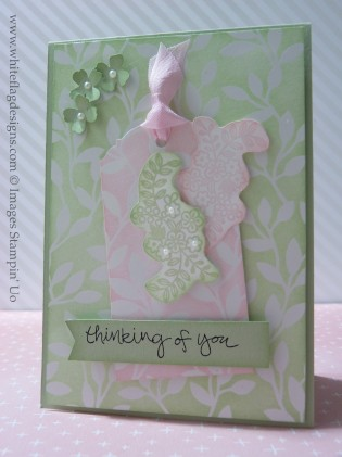 Ornate Tag Topper Punch Cards