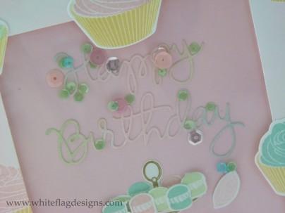 Framelit Birthday Shaker Card