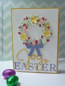 Framelit Friday Wondrous Wreath Easter Card