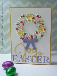 Framelit Friday Wondrous Wreath Easter Card