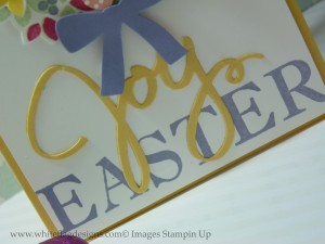 Wondrous Wreath Joy Die Cut Word