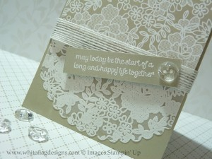 Something Lacy Embossed Card