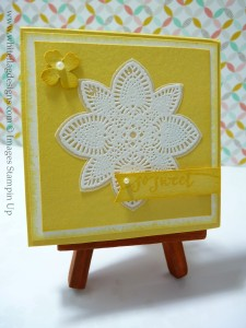 Daffodil Delight Post It Note Holder