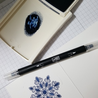 Blender pen and classic ink